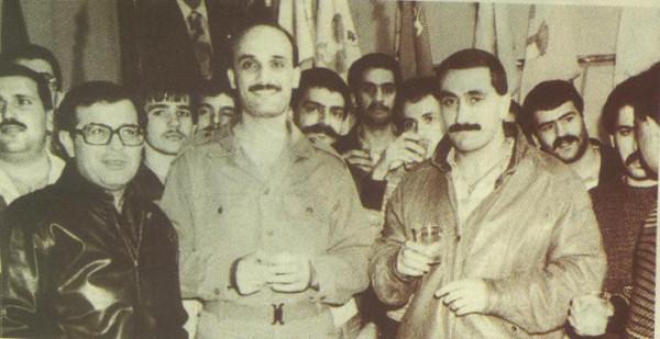 Карим Пакродоуни, Самир Джаджа и Ильяс (Элиа) Хобейка - руководитель резни в Сабра и Шатила
