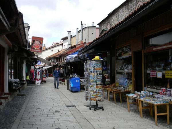 Старинные сараевские мастерские сейчас работают на туристические запросы