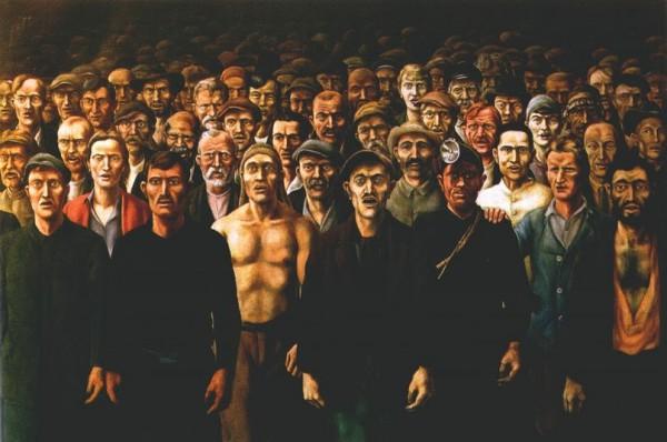 Пролетарий тогда, век назад, и правда казался глыбой, свидетельством триумфа человечества, его победы над природой.