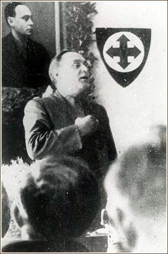 Лидером венгерского нацизма был человек армянского происхождения Ференц Салоши (фамилия его деда — Салосьян), ветеран Первой мировой войны