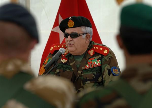 Афганец из НИФА Абдул Рахим Вардак, профессиональный военный, представлял политическое течение, которое позже было названо «моджахедизмом». В 2014-2012 гг. Вардак возглавлял Министерство обороны Афганистана