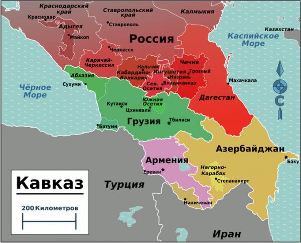 На Кавказе лучше ничего не передвигать! Взорвётся!