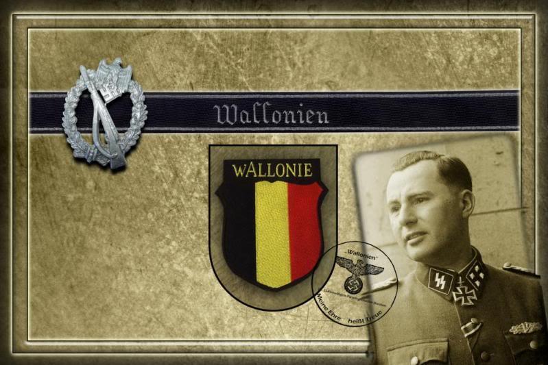 В ноябре 1941 года валлонский легион участвовал в германском наступлении на Восток, проделав с боями путь от Днепропетровска до Дзержинского