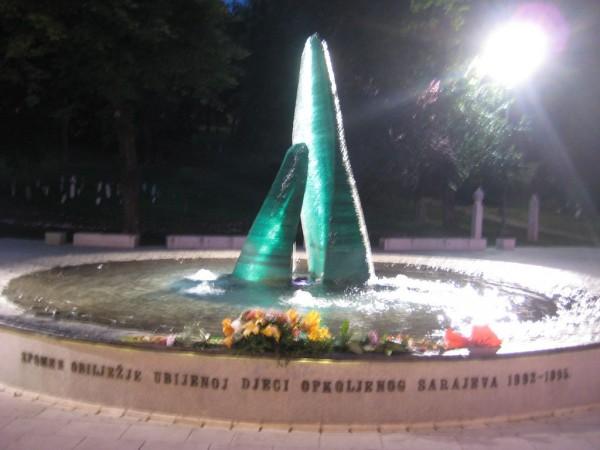 Памятник детям, погибшим во время осады Сараево