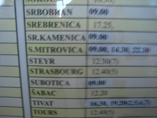 Сейчас из городов Республики Сербской до Сребреницы ходят обычные рейсовые автобусы