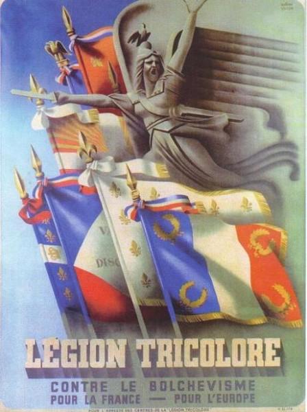 Новый ЛФД (ядро которого составляют убеждённые активисты, политизированные до крайности, члены Французской народной партии бывшего коммуниста Жака Дорио) возродился из пепла под именем «Трёхцветный легион»