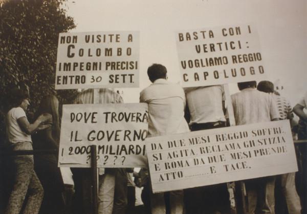 «Сначала было много парней, которые думали, что Реджо защитят левые. Но им пришлось пересмотреть свои политические позиции. Многие стали фашистами только потому, что в битве за Реджо верно повели себя только фашисты», — вспоминал Чиччо Франко