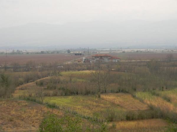 Вид на Алазанскую долину после убийственного града