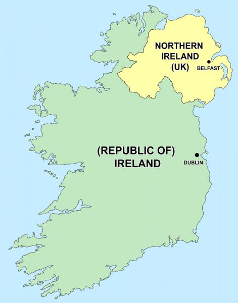Впервые английские рыцари появились на ирландской земле в ХII веке. Гэлы (кельтские племена) встретили их не слишком дружелюбно