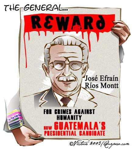Эфраина Риоса Монтта подчас называют дьяволом во плоти, превзошедшем Сталина, Гитлера, Пол Пота и даже Джорджа Буша-младшего