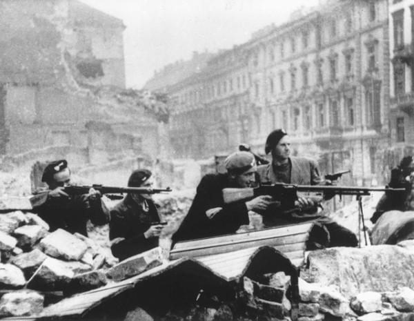 Поляки подняли восстание в надежде на то, что их поддержит Красная армия, которая успешно развивала наступление.