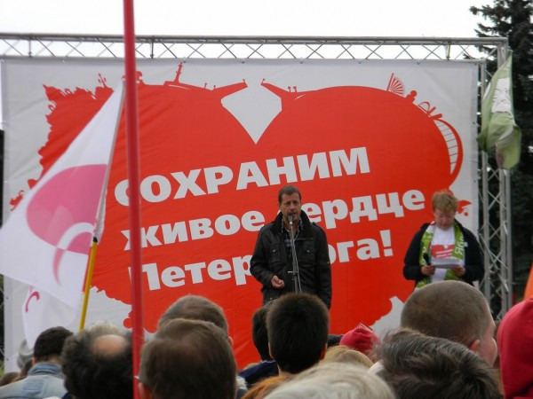 «Наш главный враг — апатия!» - заявил лидер фракции партии «Справедливая Россия» в петербургском Законодательном собрании, ветеран градозащитного движения Алексей Ковалёв