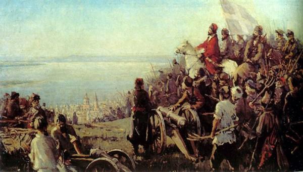 17 сентября 1773 года началось величайшее в истории восстание русского и ряда других угнетённых народов восстание против Российской империи — восстание под предводительством Емельяна Пугачёва