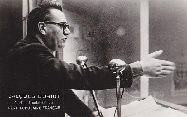 Фашистская «Народная партия» Дорио была по существу группой, отколовшейся от коммунистической партии, с установкой, производящей некоторое национал-большевистское впечатление. Сам Дорио был коммунистическим мэром Сен Дени и принадлежал к числу лидеров Коммунистической партии Франции