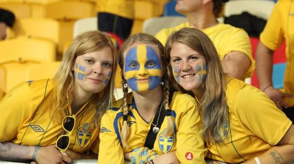 Fans Before Sweden v England - UEFA EURO 2012 Group D