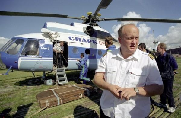 Вертолётчик Петербурга №1, лётчик-испытатель Вадим Базыкин