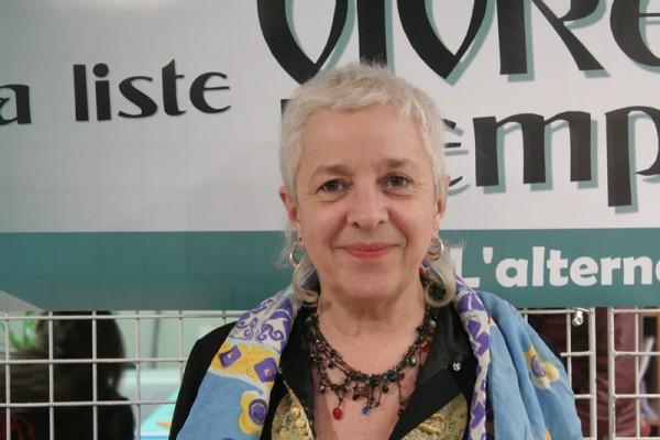 Представитель Бретонского демократического союза (БДС) Аннэг Лё Гар
