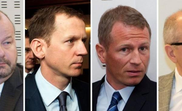 Арестованные ведущие банкиры Исландии