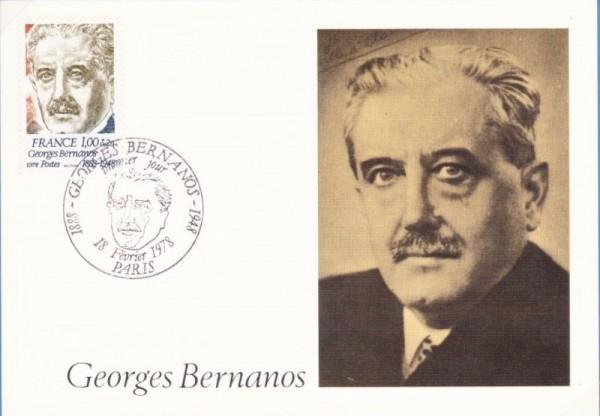 Жорж Бернанос (20 февраля 1888, Париж — 5 июля 1948, Нёйи-сюр-Сен)