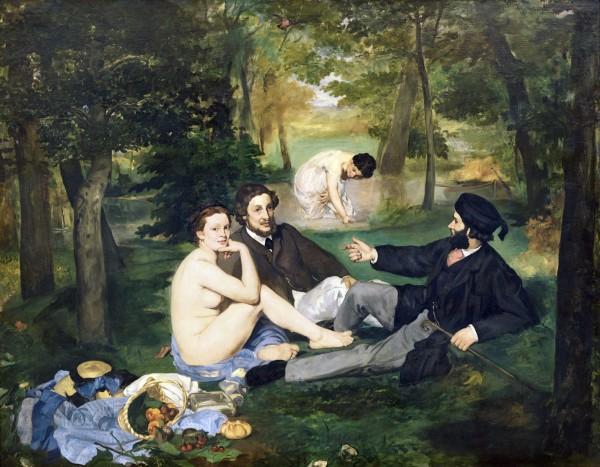 Работы Мане, Тулуз-Лотрека, Дега давно перестали быть предметом эпатажа: никто теперь больше не будет негодовать, обсуждая холст, на котором изображена голая девица, в компании одетых мужчин, как, например, на знаменитой картине Мане 1863 года «Завтрак на траве»