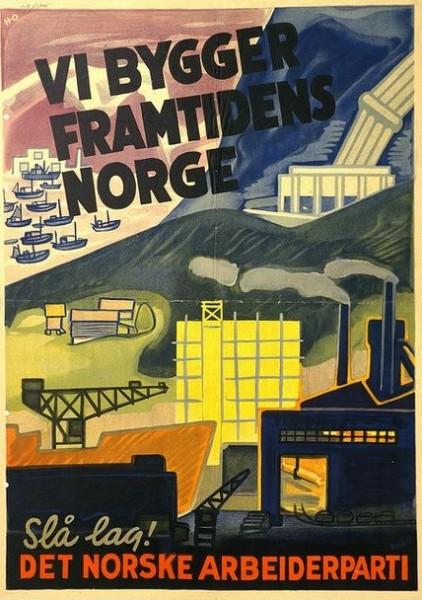 В 50-х- 60-х годы в норвежской экономике наблюдался стабильный рост ВВП на уровне 4-5% в год параллельно с ростом промышленного производства. И во многом это произошло за счёт производственной рационализации и социальной мобилизации на основе промышленной демократии