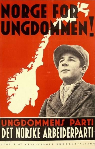 C 1945-1952 гг. количество членов профсоюзов Норвегии постоянно увеличивалось и выросло в итоге с 339 920 до 515 593 человек