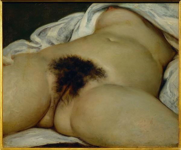 Гинекологическая картина Гюстава Курбе «Происхождение мира» считается нынче шедевром! Она тоже хранится в д' Орсе