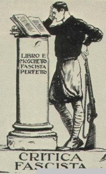 Итальянский вариант светской религии тоталитарного режима остался прежде всего одной из форм литературного самовыражения фашистской интеллектуальной элиты, прежде всего из среды университетской молодёжи