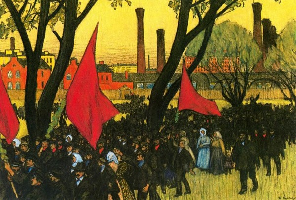 Мощнейшая, не виданная доселе нигде в мире, рабочая концентрация создавала особый рабочий мир со своими ценностями и моралью — ценностями созидания и моралью производителей. И это способствовало развитию рабочего движения в стране