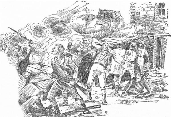 Ветряная мельница являлась прочной позицией повстанцев. Но кончались боеприпасы, не говоря о продовольствии, а помощь не приходила