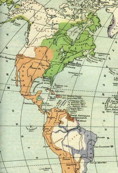 Канадские провинции в середине XVIII века