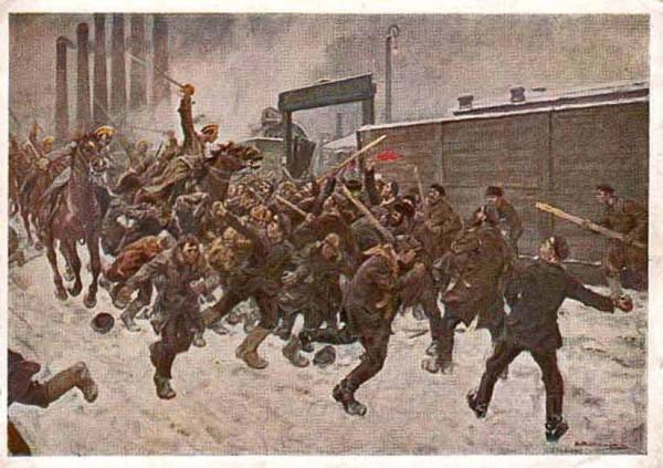 Те рабочие, что 9 января 1095 года вышли на демонстрацию в Петербурге, знали, что солдаты в них будут стрелять, а казаки — рубить их шашками. Но это их не останавливало