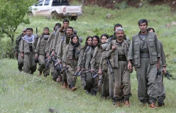 Отряд Курдской рабочей партии в Ираке / Фото: REUTERS/Azad Lashkari