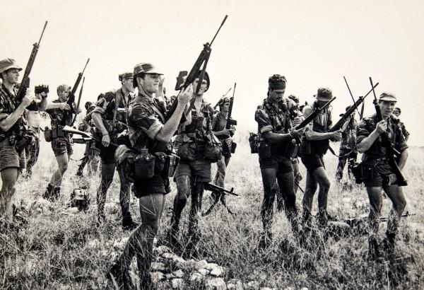 Боецы Родезийской легкой пехоты, 1970–е