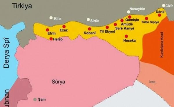 Сирийские курды объявили о создании федеративного региона на севере Сирии