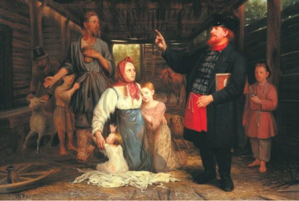 Торговля людьми в России к началу XIX века была делом обычным и обыденным