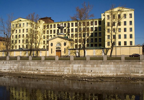 Здание российской бумагопрядильной мануфактуры сегодня