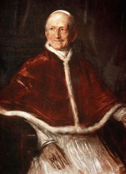 Папа Римский Лев XIII (нахождение на Святом престоле - 1878-1903)