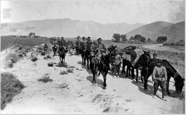 Именно «туземные» подразделения, укомплектованные в испанской части Марокко, стали ударными частями фашистов
