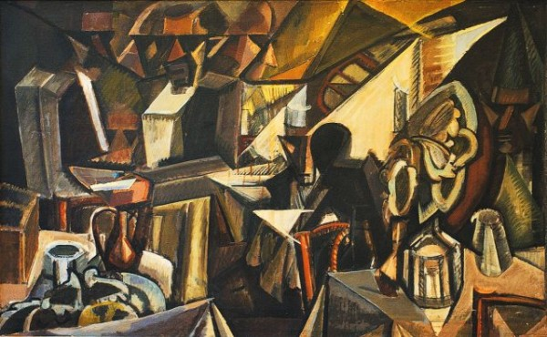 Синтетическое искусство было заменено аналитическим искусством, образ был деконструирован методом аналитической дедукции. Этот процесс особенно нагляден в кубизме, где пластика визуального объекта деконструированна до геометрической, квадратно-угловатой формы