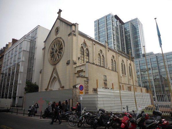 На месте церкви Святой Риты собираются построить парковку и общежитие