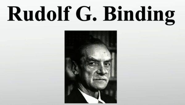 Рудольф Георг Биндинг (1867-1938)