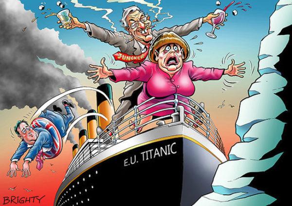 Главными последствиями Brexit станут не экономические или финансовые, а политические перемены
