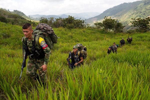 FARC сделали ставку на крестьянскую герилью — партизанскую войну, которая в конце концов должна была привести к социалистической революции / фото  Associated Press