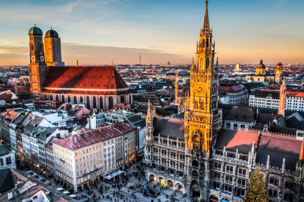 Мюнхен не может не притягивать к себе как средоточие культурно-исторических ценностей