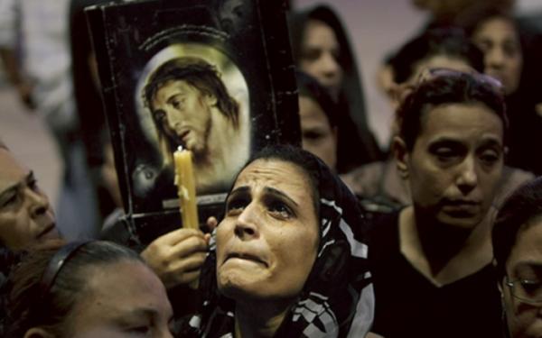 «Идея, что однажды фундаменталистское мусульманское государство могло бы быть навязано их детям, является для них невыносимым кошмаром», - рассказывает о прихожанах мелкитской общины архиепископ Клемент