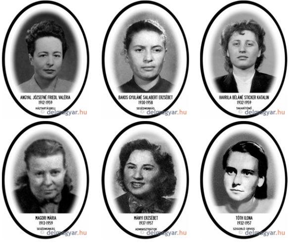 Шесть казнённых женщин. Три работницы, из них две почти люмпенши. Интеллигентка. Студентка. Конторская девушка. Отчего-то ни одной помещицы и капиталистки