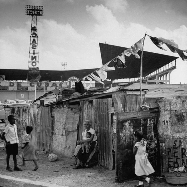 Куба, которую потеряли.. 1954 год. Трущобы Гаваны