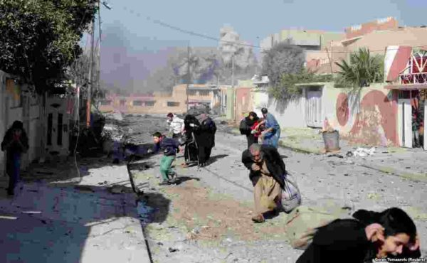 До войны в иракском Мосуле жили полтора миллиона человек. Его нынешний штурм силами коалиции тоже приводит к смертям мирных граждан, в частности - детей