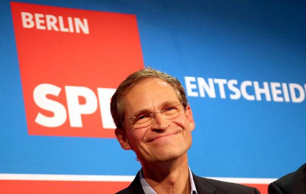 Член Правления СДПГ Михаэль Мюллер, только что переизбранный на главный административный пост в немецкой столице, до региональных выборов в Берлине в сентябре этого года возглавлял на столичном уровне «Большую коалицию», то есть правительство в составе эсдеков и христианских демократов